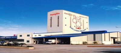 """Công trình sơn chống cháy """"nhà máy sản xuất thức ăn chăn nuôi sunjin F&F"""""""